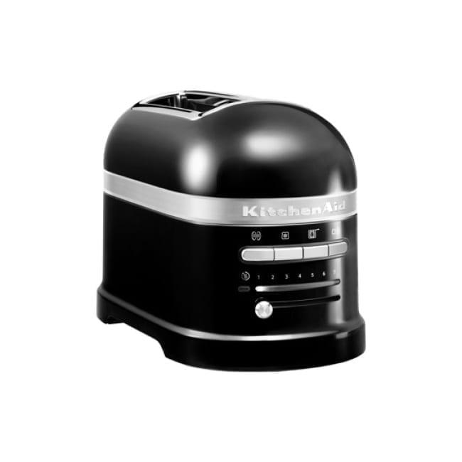 2 Scheiben Toaster Onyx Schwarz