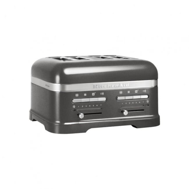 KitchenAid 4 Scheiben Toaster Medaillion Silber