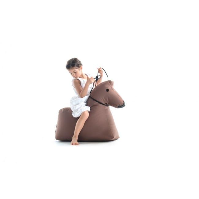 Pferd Lotte - braun Sitzsacktiere SITTINGBULL