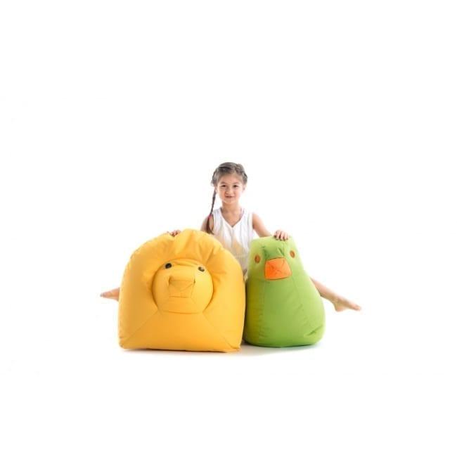 Löwe Nora - gelb Sitzsacktiere SITTINGBULL