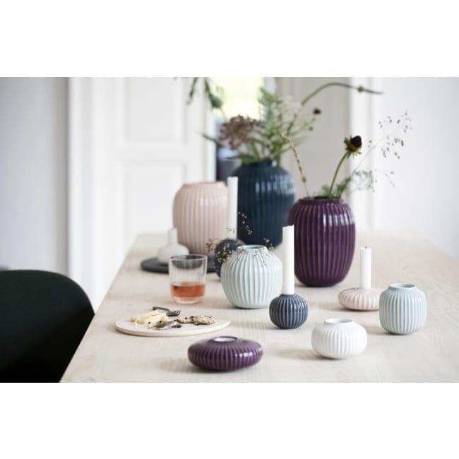 Kähler Vase Hammershøi 25cm verschiedene Farben