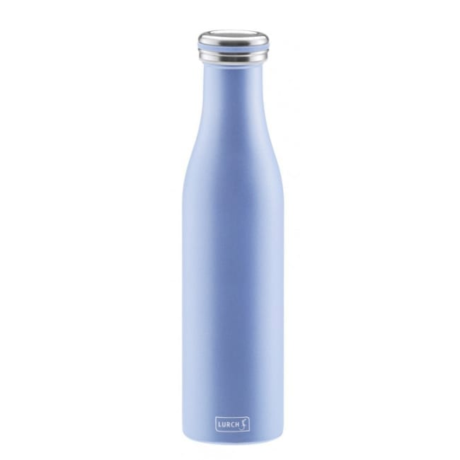 Isolier-Flasche 0,5l Pearl Blue Lurch