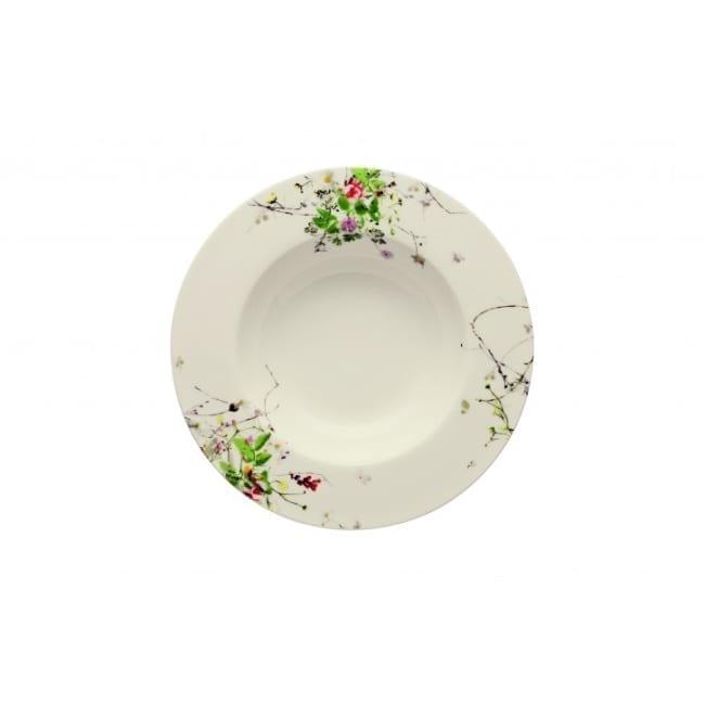 Fleurs Sauvauges - Suppenteller 23 cm Fahne Rosenthal
