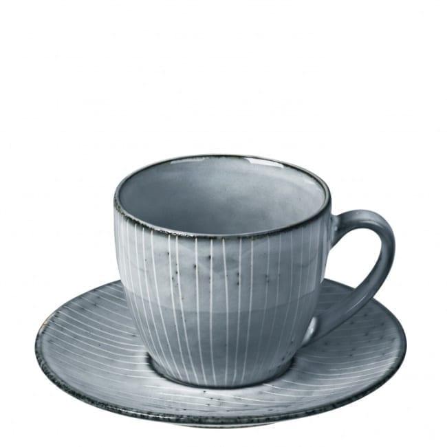Kaffeetasse mit Untertasse Nordic sea Broste Copenhagen