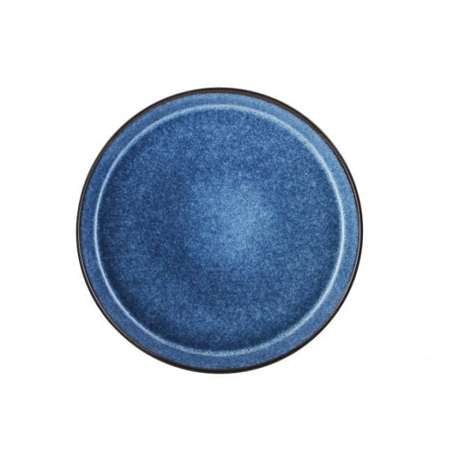 Speiseteller schwarz/blau 27 cm Bitz