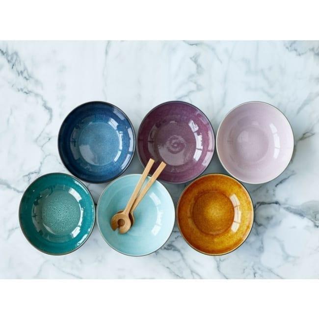 Bowl grey/blue 12 cm