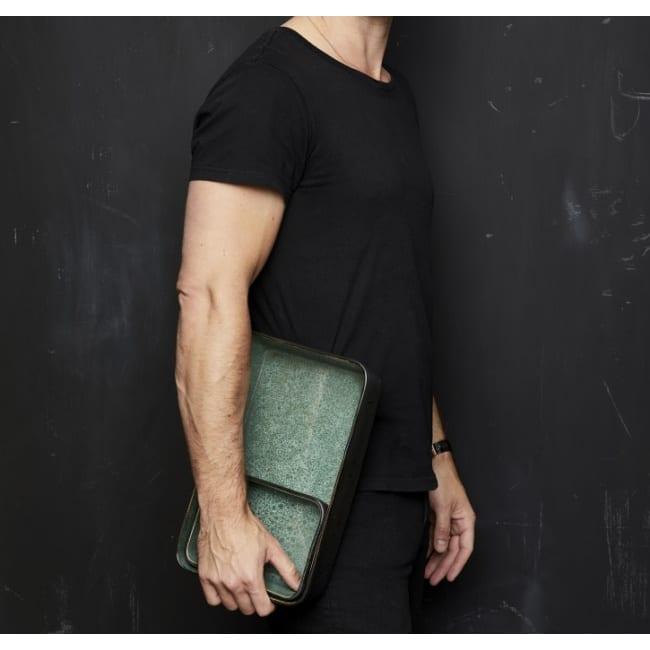 Platte black/green 36 cm