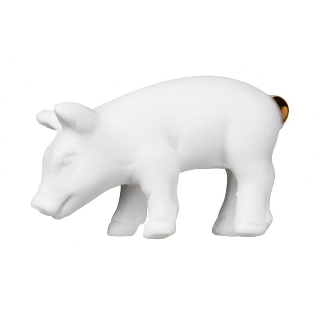 Glücksschwein Porzellan Räder