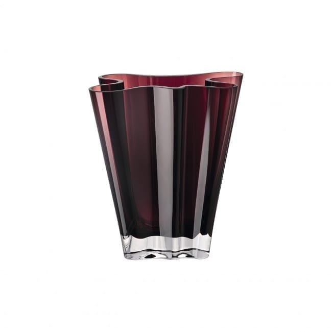 Vase Flux 20 cm Glas/berry - Rosenthal