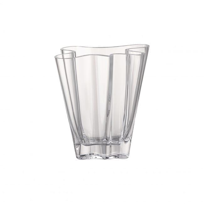 Vase Flux 20 cm Glas/klar - Rosenthal