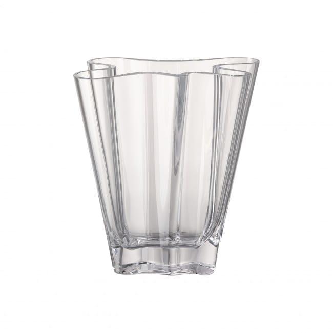 Vase Flux 26 cm Glas/klar - Rosenthal