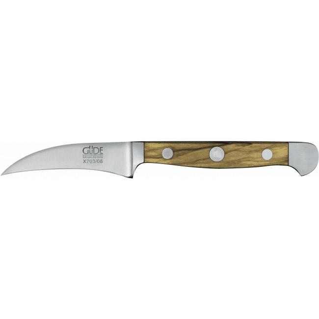 Schälmesser Alpha Olive 6 cm - Güde