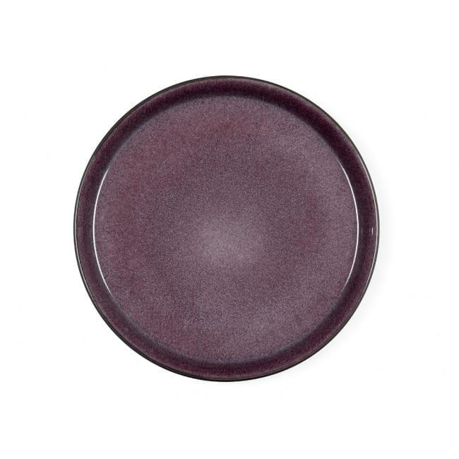 Speiseteller 27 cm grey/lilac - Bitz
