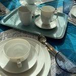 gedeckter Tisch TAC Rosenthal