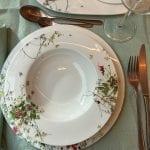 gedeckter Tisch Fleurs Sauvage Rosenthal